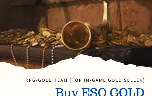 Buy ESO GOLD online at RPG GOLD
