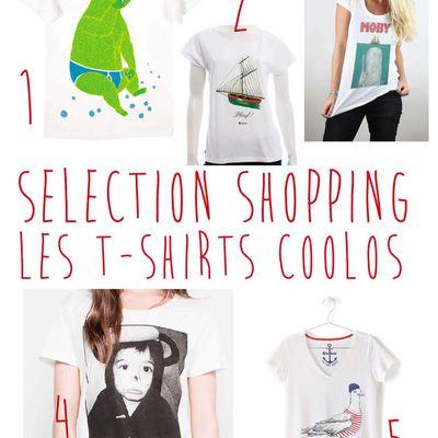 Selection de t-shirts coolos