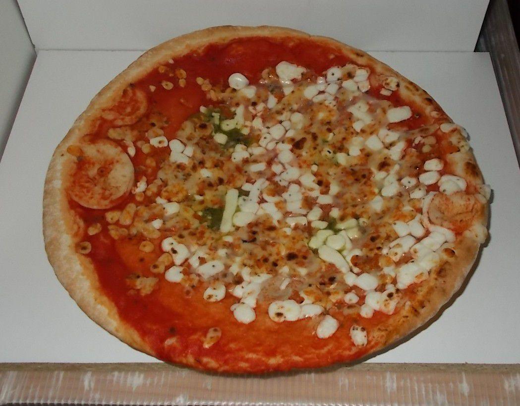 Aldi Pizz'Ah Holzofen Pizza Mozzarella
