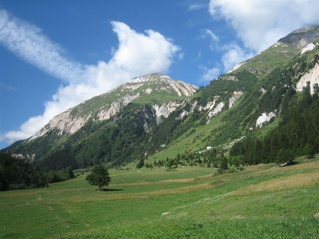 Photos de Bessans, de la vallée d'Avérole, de Bonneval sur Arc et des glaciers.