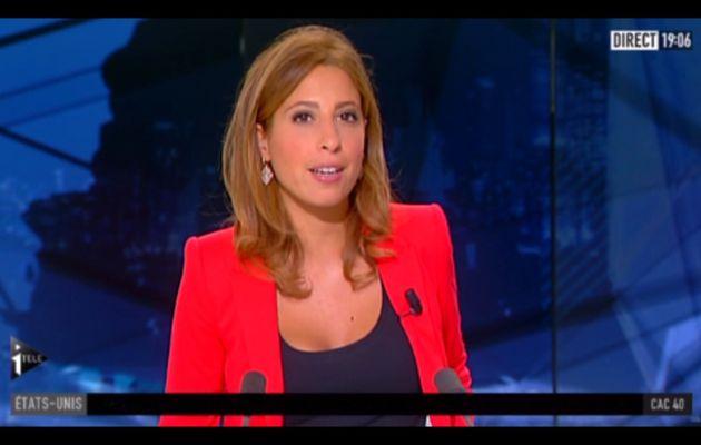 [2012 08 31] LEA SALAME - I>TELE - LA GRANDE ÉDITION @18H00