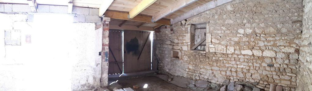 Atelier : démolition de la cloison (Salon/SAM)