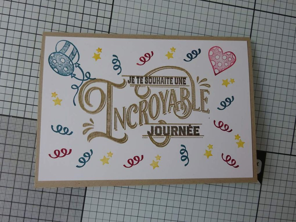 [Stampin'Up!®] Absolument formidable #simplestamping