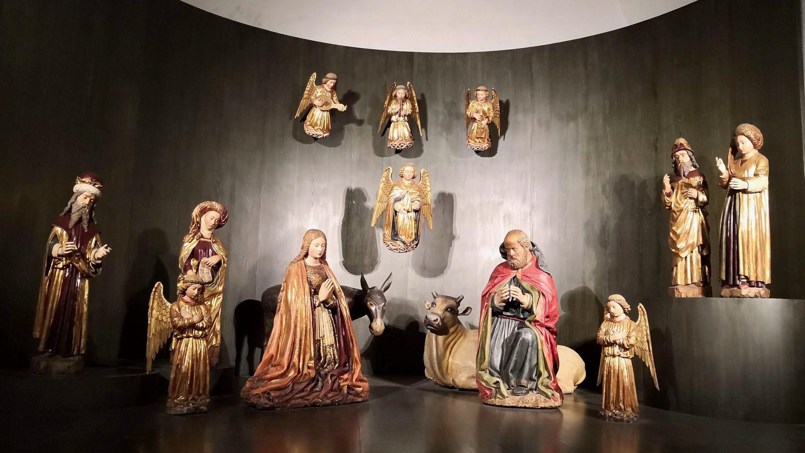 Crèche Cuciniello (crèche de l'église de San Giovanni a Carbonara) (1879)