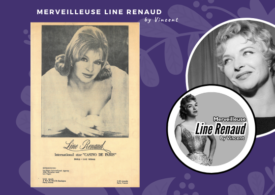 "DOCUMENTS: Promo Line Renaud international star ""Casino de Paris"" (USA)"