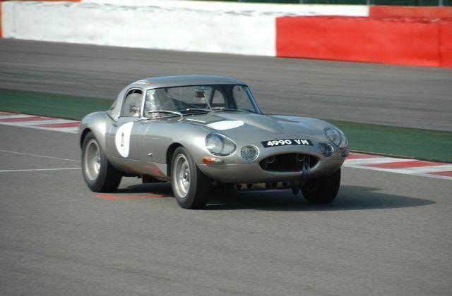 Jaguar Type E 3,8L Lightweight Low Drag 1964 replica.