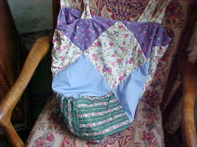 bolsos empleando técnica de patc son cómodos, prácticos y muy útiles