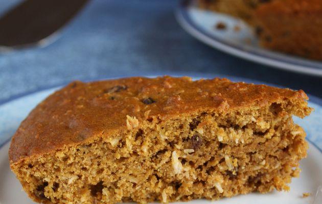 """Goûter lecture du mercredi: """"Cuisinez comme vous le sentez"""" et un gâteau aux carottes et aux raisins"""