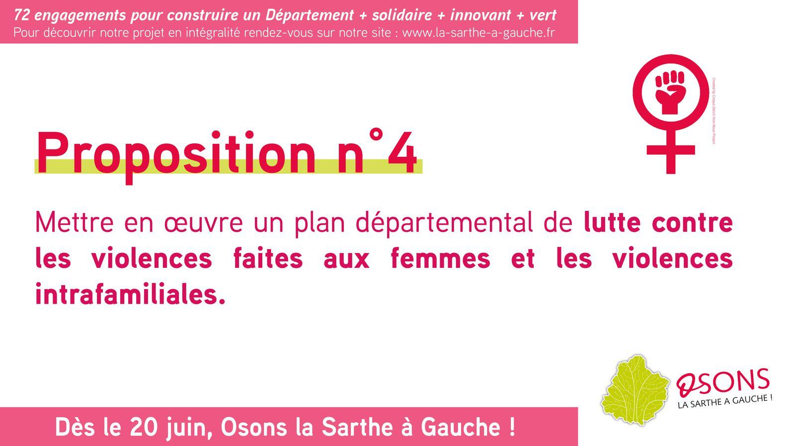 12 grandes propositions pour la Sarthe : notre engagement n°4