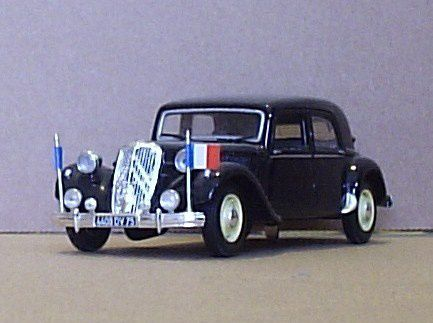 Traction 15 six H 1954