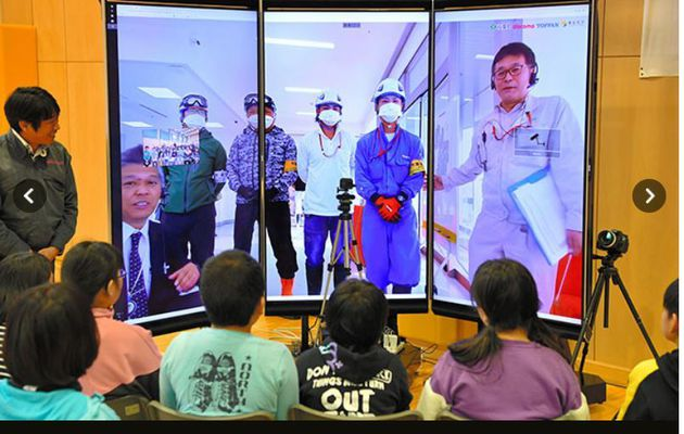 "Virtual ""homecoming"" for young evacuees"