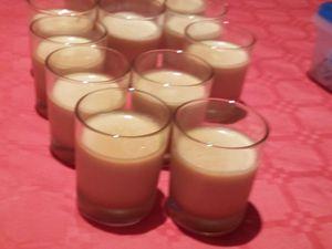 Panna cotta confiture de lait