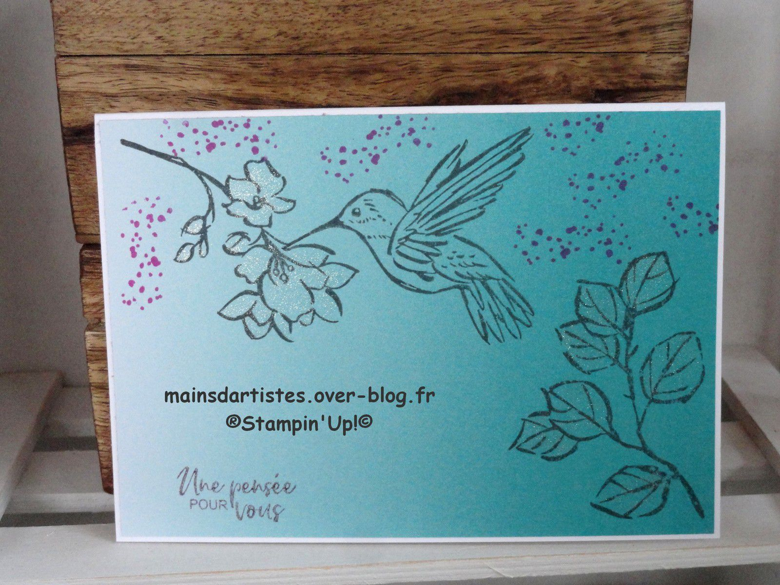 PAPIER DESIGN,OMBRESEMBLABLE,STAMPIN'UP!