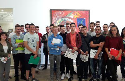 Les BTS2 DRB visitent l'expo Chagall au F.H.E.L.