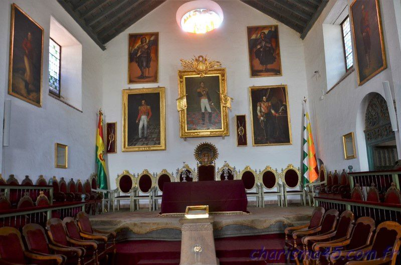 Sucre (Bolivie en camping-car)