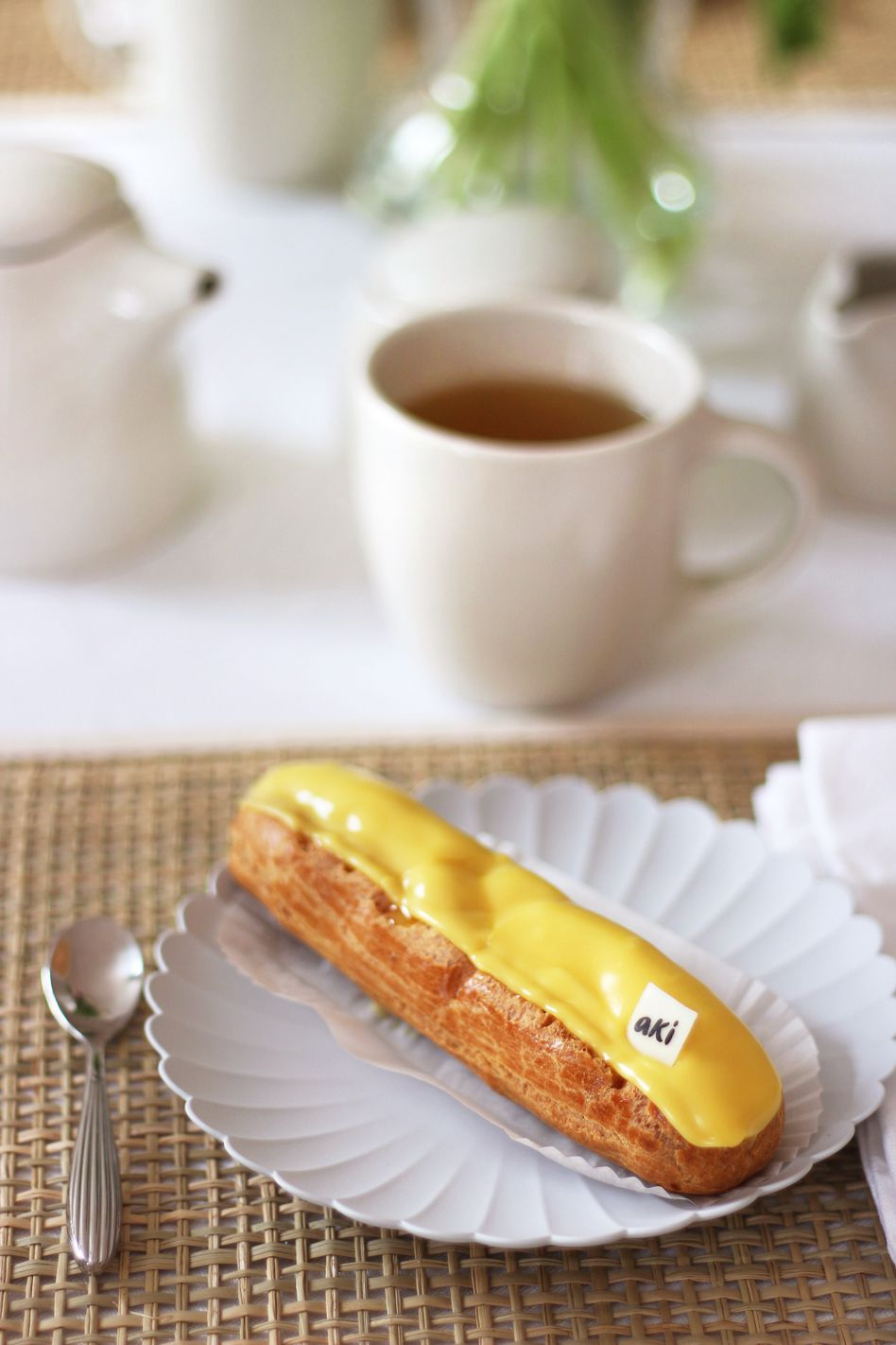 La pause gourmande d'inspiration japonaise avec les pâtisseries d'Aki Boulangerie