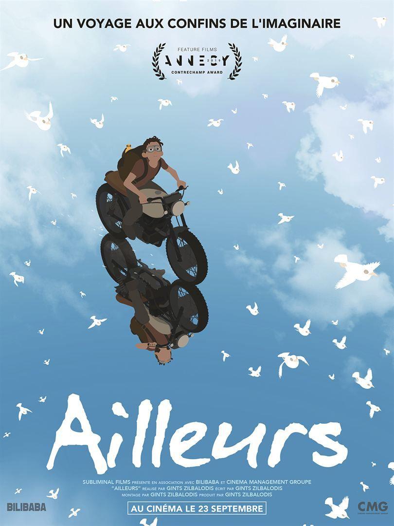 Ailleurs (BANDE-ANNONCE) de Gints Zilbalodis - Le 23 septembre 2020 au cinéma