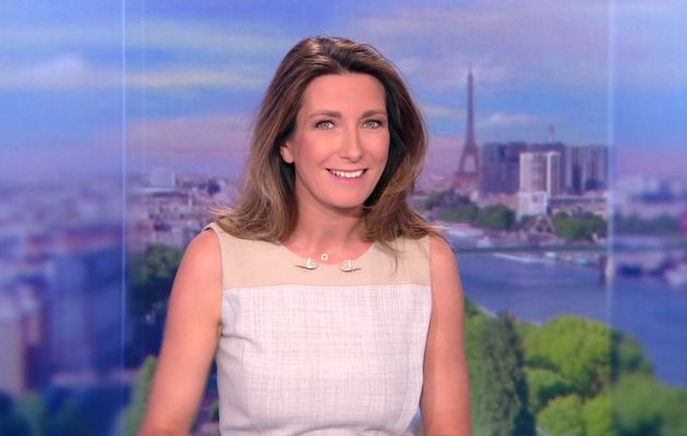 📸13 ANNE-CLAIRE COUDRAY @ACCoudray @TF1 @TF1LeJT pour LE 13H WEEK-END #vuesalatele