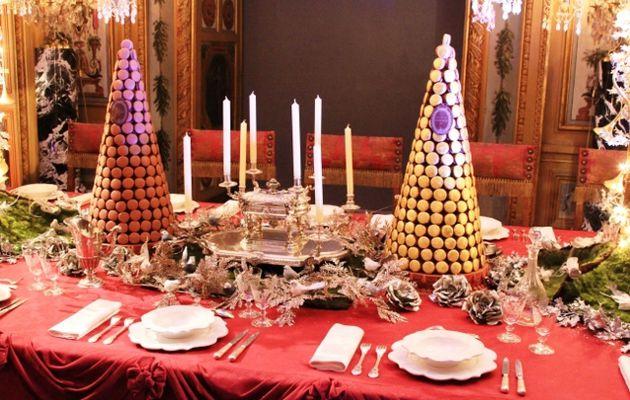Diner Noel chateau Vaux le Vicomte