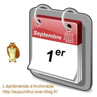 Personnalités nées un 1er Septembre