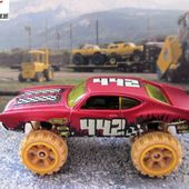 OLDS 442 W-30 REHAUSSE 4X4 HOT WHEELS 1/64 - car-collector.net