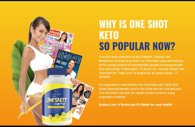 One Shot Keto: Reviews & Offer Price, Keto Fat Burn Diet, Benefits & Buy