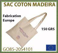 sac shopping Madeaira à partir de coton 150 gr fabrication Europe - GO85-20S4101