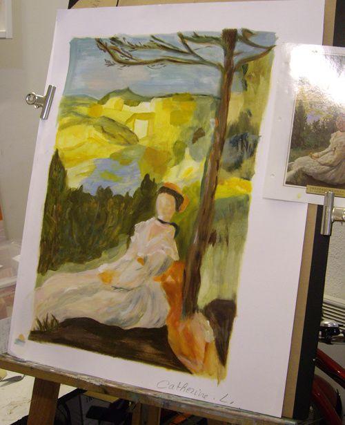 Album - novembre2010- dessin / peinture - les ateliers
