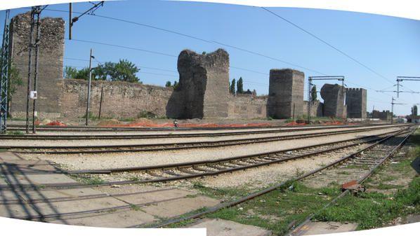 Smederevo, Serbie, forteresse au bord du Danube Photos: ©Emmanuel CRIVAT (08/2007)