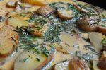 Omelette aux restes de pommes de terre, ciboulette et paprika