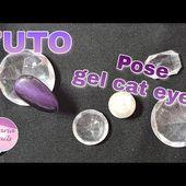 Appliquer le gel cat eyes