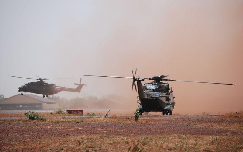 Les hélicoptères NH90 de la Composante Air belge sont arrivés à Gao, au Mali
