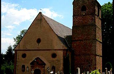 SAINT LEGER  EGLISE Catholique de BOUXWILLER ( Bas Rhin - Alsace )