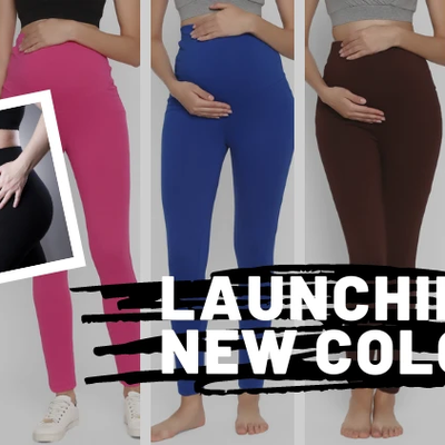 Our Maternity Leggings Are Now Available in 9 New Colors