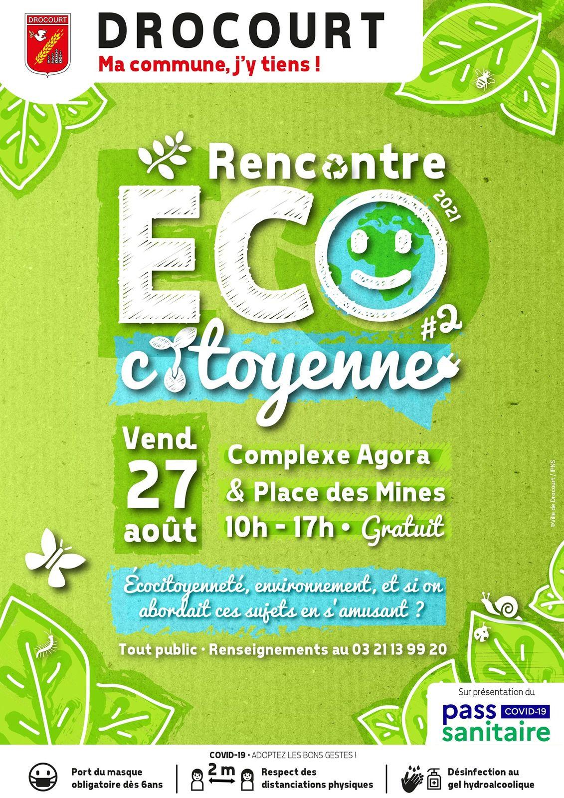 Une rencontre éco-citoyenne à Drocourt le 27 août