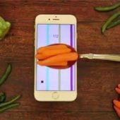 Le smartphone sert à présent de balance avec la technologie 3D Touch - OOKAWA Corp.