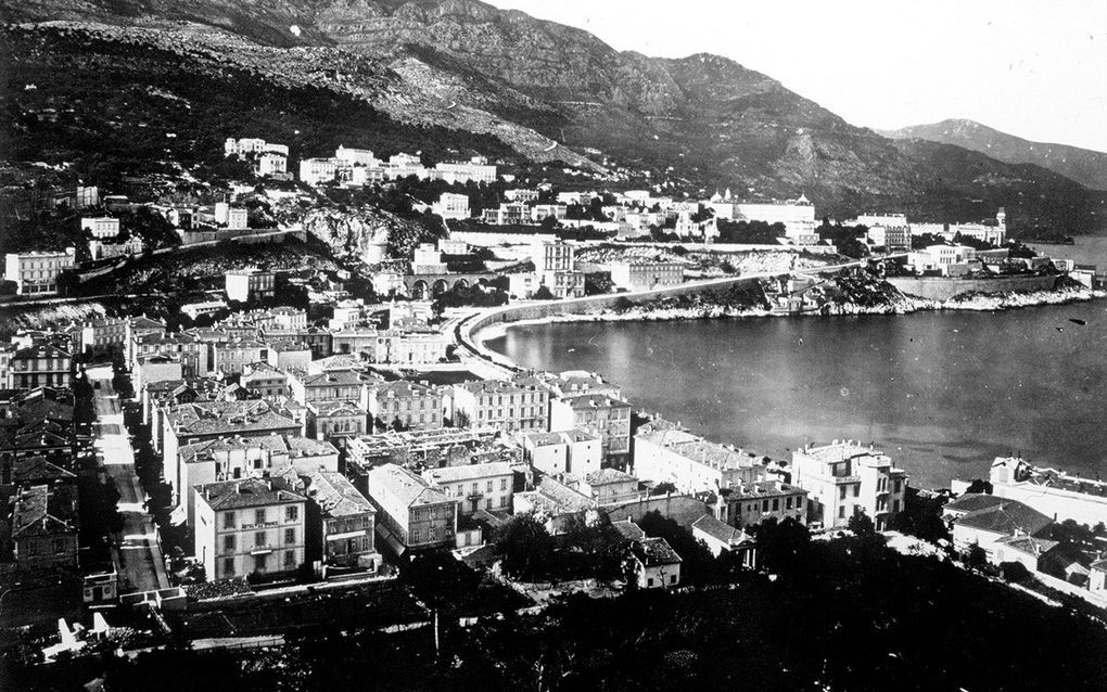 The Nice carnival, the casino municipal and the Monaco harbor photographed by Jean Gilletta