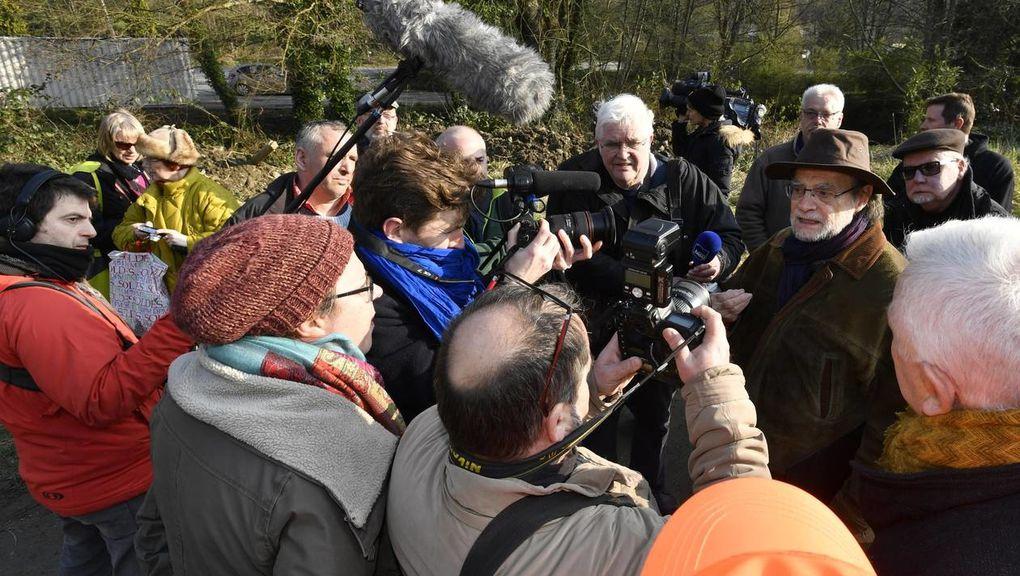 Denis Langlois est autorisé à la police judiciaire ce dimanche matin. Il a aussi été auditionné. | Photo Thierry Creux/Ouest-France
