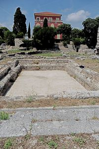 Archeological museum of Cimiez, from the east to the west walking twenty centuries on the Nice territory
