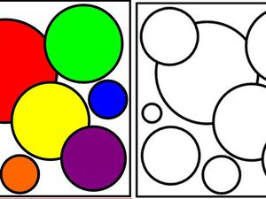 COLORIAGES : CERCLES