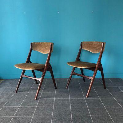 Chaises 60s Dutch Design