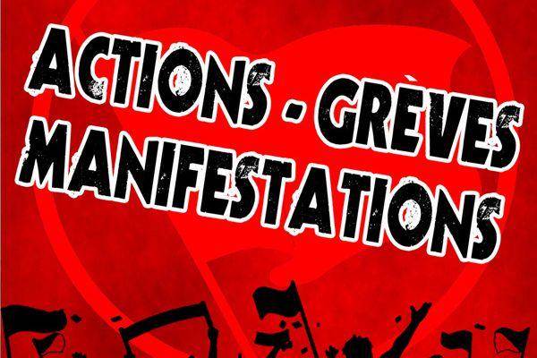 #Besançon : Manifestation demain à 10h30 devant la gare Viotte
