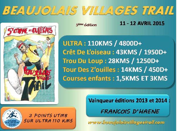 Beaujolais Village Trail : vive le trail !