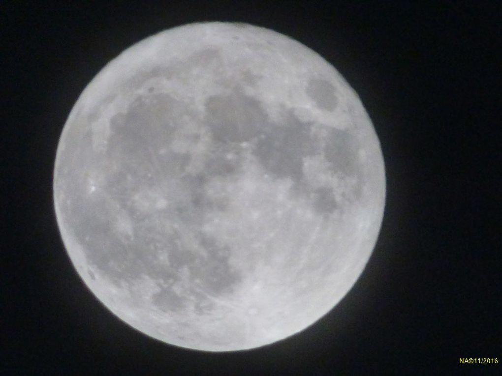 Super lune en Alsace