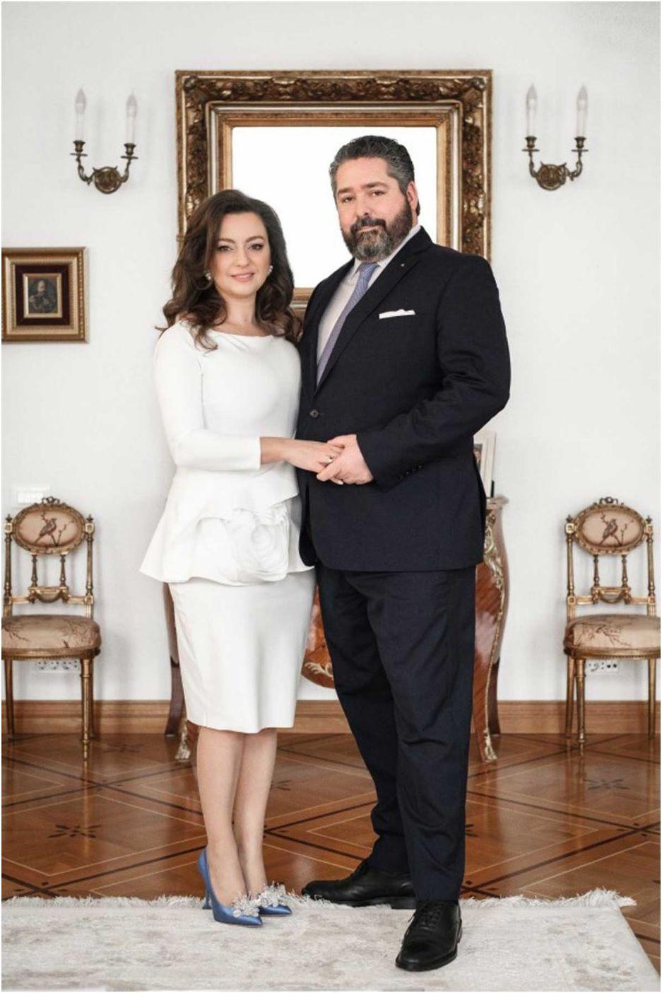 Annonce du mariage du tsarévitch Georges avec Victoria Romanovna Bettarini