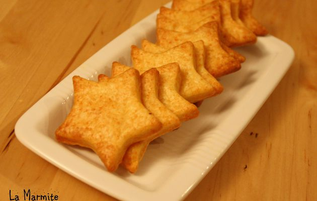 Petits Crackers au Fromage {Give Away Inside}