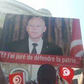 Tunisie: les partisans de Kaïs Saïed descendent dans la rue