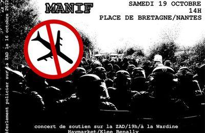 Manifestation place Bretagne à Nantes, samedi 19 octobre 2013 (zad.nadir.org, le 06.10.13)