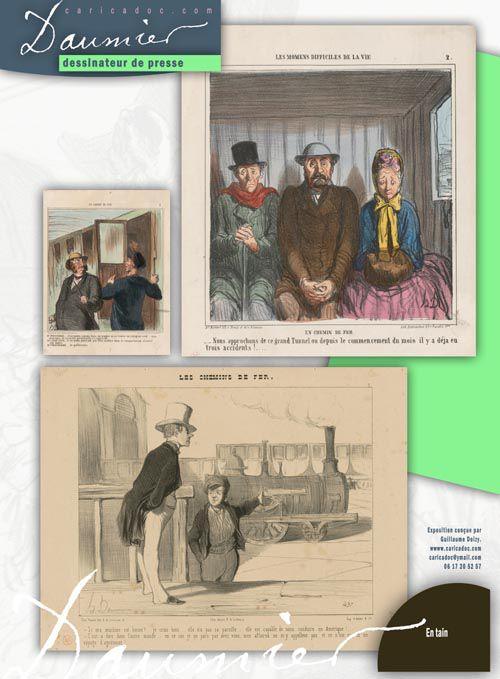 """""""Daumier dessinateur de presse"""" : exposition itinérante à louer/imprimer"""