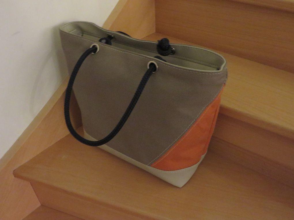 Les nouveautés FilaFlo pour 2015, sacs, cabats, caches pots et pannières... suivant le stock de tissus du moment et l'inspiration du sellier...